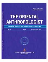 THE ORIENTAL ANTHROPOLOGIST