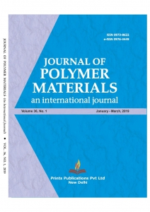 JOURNAL OF POLYMER MATERIALS : An International Journal