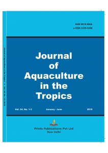 JOURNAL OF AQUACULTURE IN THE TROPICS