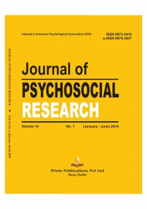 JOURNAL OF PSYCHOSOCIAL RESEARCH